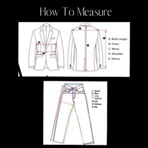 Other - Jackets & Pants Measurement Guide